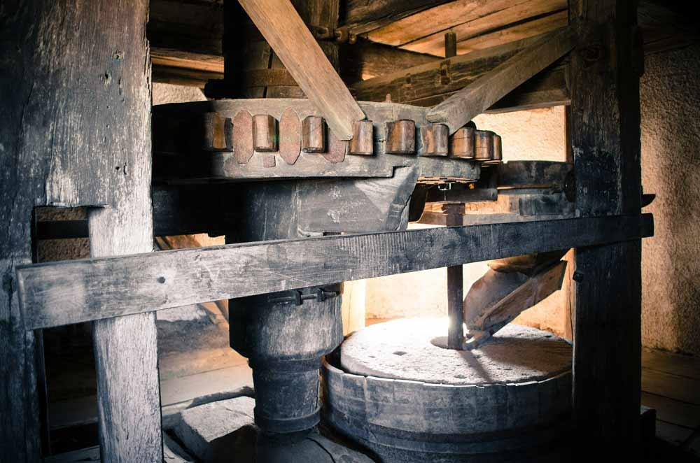 Molino de pan artesanal