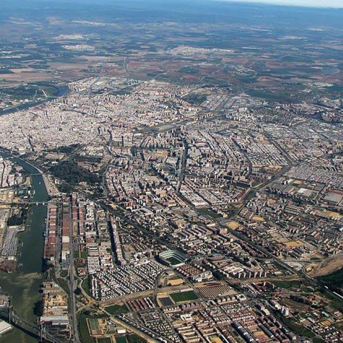 Rutas de reparto de pan en Sevilla y Huelva